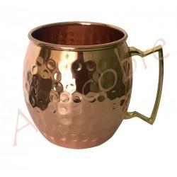 Mug de cobre Barril