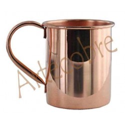 Mug o vaso de cobre