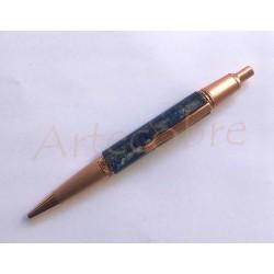Bolígrafo cobre/lapislazuli