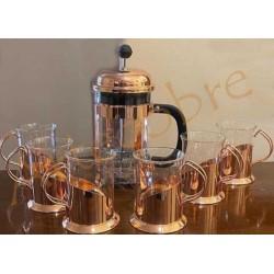 Set de Café en cobre