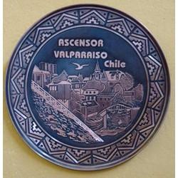Plato Ascensor Valparaíso