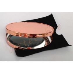Espejo de cartera cobre