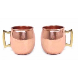 Mugs de cobre pequeños