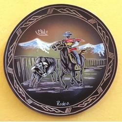 Plato Pintado Rodeo