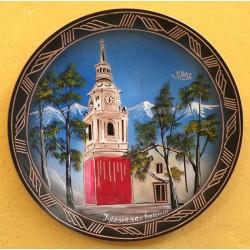 Plato Pintado Iglesia San...