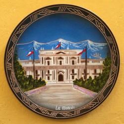 Plato Pintado La Moneda