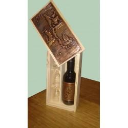 Caja Vino mini cobre