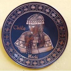 Plato Machi Mapuche