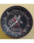 plato mural Reloj de cobre